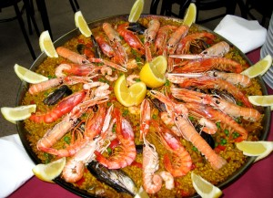 Yummy paella! cc licensed: http://en.wikipedia.org/wiki/Paella